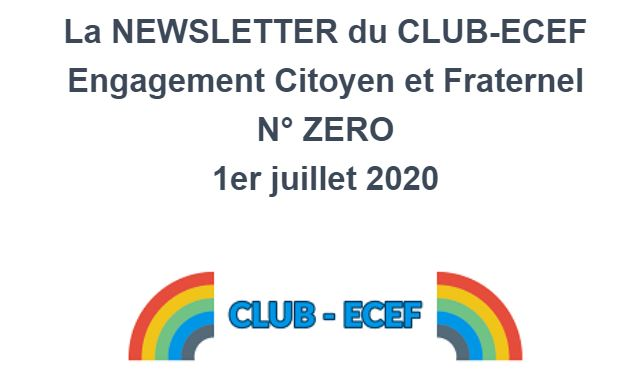CLUB-ECEF - Newsletter N°0
