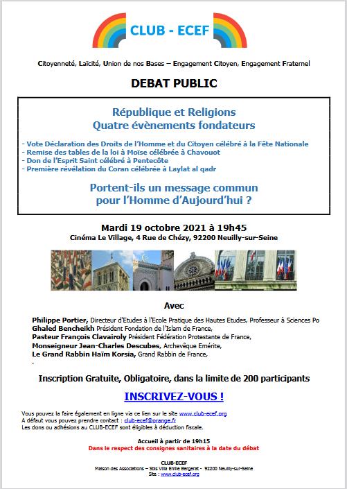 Club-ECEF -débat du 19 octobre 2021